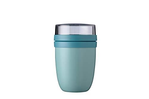 Mepal Lunchpot Ellipse Nordic Green – 500 ml praktischer Thermo-Essensbehälter, Joghurtbecher, to go Becher...