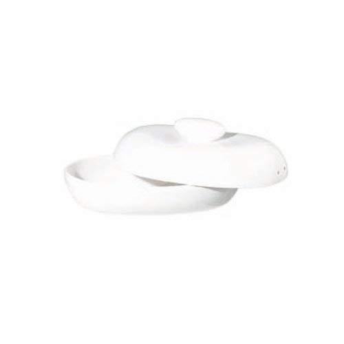 ASA Brottopf, Keramik, weiß, 31x20x16 cm