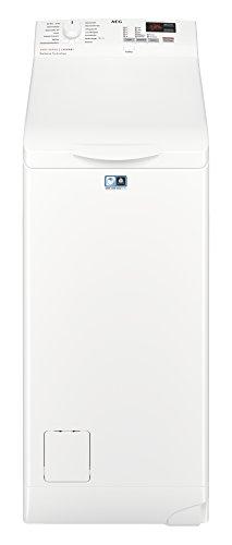 AEG L6TB40260 Waschmaschine Toplader / 6,0 kg / Mengenautomatik / Nachlegefunktion / Kindersicherung /...