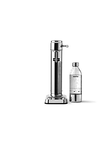 Aarke Carbonator 3 Wassersprudler mit Edelstahlgehäuse und premium PET-Flasche Edelstahl