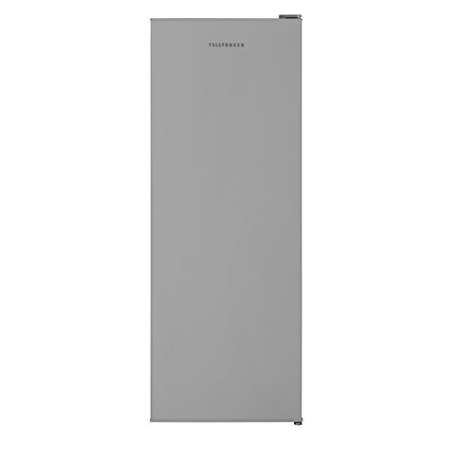 TELEFUNKEN KTFG15421FS2 Gefrierschrank Silber/Tiefkühlschrank - Leise & effizient / 145,5 cm...