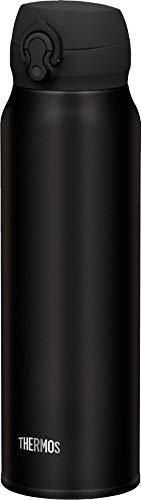 THERMOS 4035.232.075 Thermosflasche Ultralight, Edelstahl Mat Black 0,75 l, extrem leicht, nur 275 g, 10...