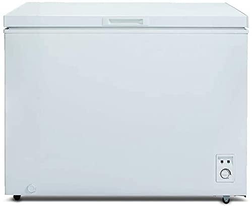 CHiQ Gefrierschrank Groß 292 L   Gefriertruhe mit statischem Kühlungsystem   83,5 x 105,5 x 73,5 cm (HxBxT)...