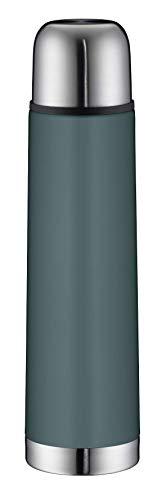 alfi Isolierflasche Edelstahl isoTherm Eco, Edelstahl türkis 750ml, Thermosflasche mit Becher 5457.293.075...