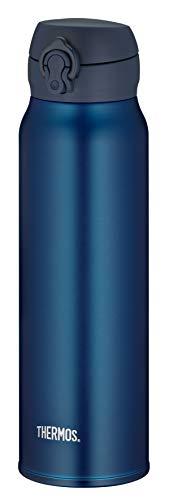 THERMOS Thermosflasche Edelstahl Ultralight, blau 750ml, Isolierflasche extrem leicht 275g Trinkflasche...