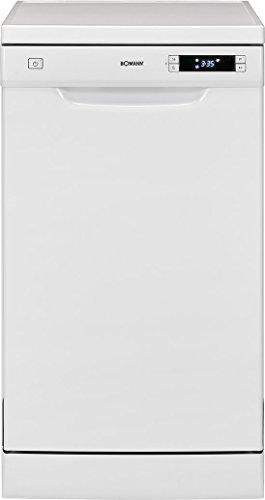 Bomann GSP 863 Geschirrspüler / EEK A++ / Stand/Unterbau / 45 cm / 211 kWh / 10 MGD / 6 Programme / weiß