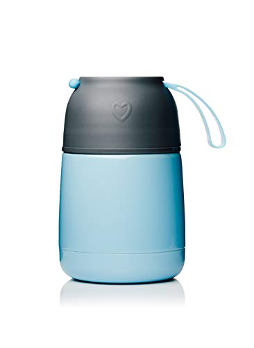 BOHORIA® Thermobehälter Lunchbox | Hochwertiger Isolierbehälter | Edelstahl | Thermo Gefäß für...