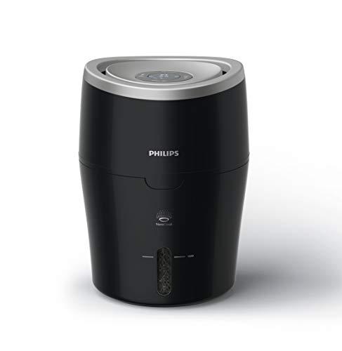 Philips Luftbefeuchter HU4814/10 (bis zu 40 m², hygienische NanoCloud-Technologie, leiser Nachtmodus,...