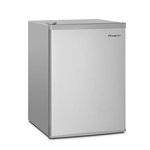 Inventor Mini-Kühlschrank 66L, Energieklasse A+, Silberne Farbe, Leise und ideal für Hotels,...