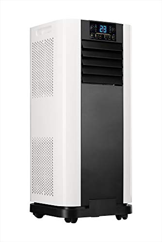 Home Deluxe - Klimaanlage Mobil SET Mokli XL - Mobiles Klimagerät mit 4in1 System: kühlen, heizen,...