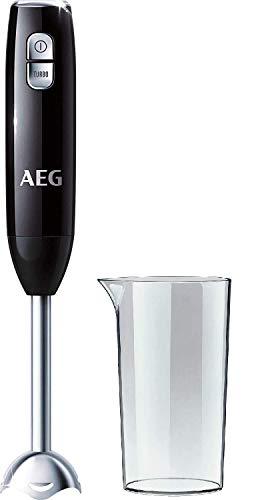 AEG STM 3200 Stabmixer / 600 Watt / 2-Klingen Edelstahlmesser / 0,8 PS / 16.500 U/Min. / 2 Stufen inkl....