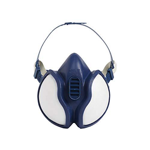3M Atemschutzmaske 4251C1 – Gebrauchsfertige Halbmaske mit Schutzstufe A1P2 für Farbspritz- &...