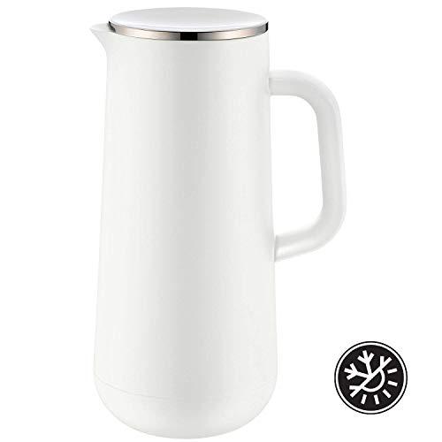 WMF Impulse Thermoskanne 1l, Isolierkanne für Kaffee oder Tee, Drehverschluss, hält Getränke 24h kalt und...