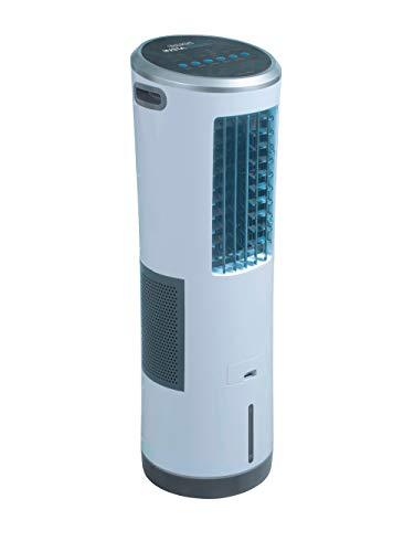 Mediashop Livington InstaChill – Klimagerät mit Verdunstungskühlung – mobiles Klimagerät mit 3 Stufen...