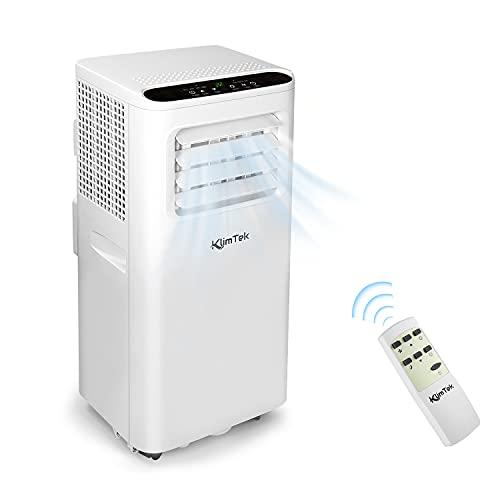 KlimTek Mobiles Kimagerät mit Abluftschlauch, 3 in 1 Mobiles Klimagerät mit Kühlen, Ventilator &...