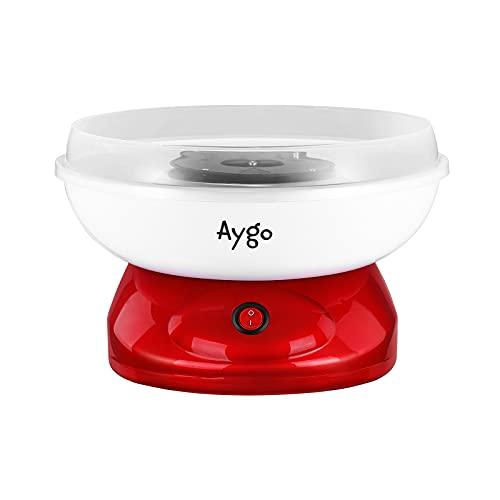 Aygo Zuckerwattemaschine für Zuhause   Retro Cotton Candy Machine   mit Zucker oder Zuckerfreie Harte...