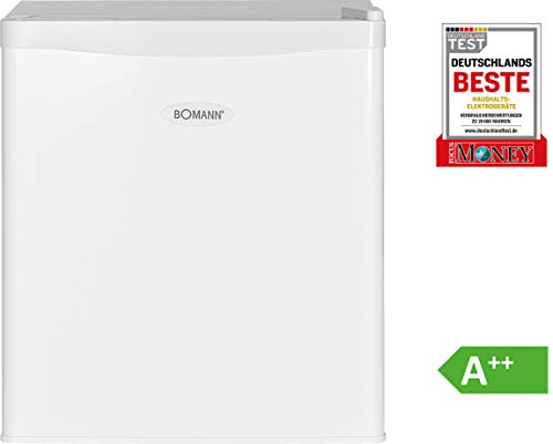 Bomann KB 389 Mini-Kühlschrank / A++ / 51 cm Höhe / 84 kWh/Jahr / regelbarer Thermostat / Kühlmittel R600a