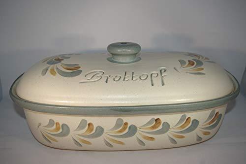 Töpferei Seifert Brottopf Schilf Gross 40 cm   Brotkasten   Brotbox   Brotdose   Brotbehälter   Steinzeug  ...
