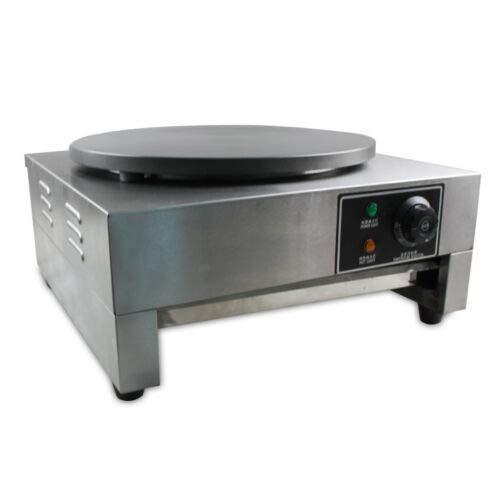Aohuada Crepemaker, Premium Crepes Maker mit Ø 400 mm 3000 W antihaft Crepesplatte Crepes Platte, Crepes...
