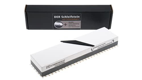 Rasierschärfe garantiert! Schleifstein Set inkl. Videoanleitung, Winkelhilfe und Antirutschmatte | Deutsche...
