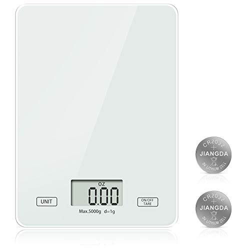 Meromore Digitale Küchenwaage, Digitalwaage Digital Küchenwaagen Elektronische Waage Küche mit gehärtetem...