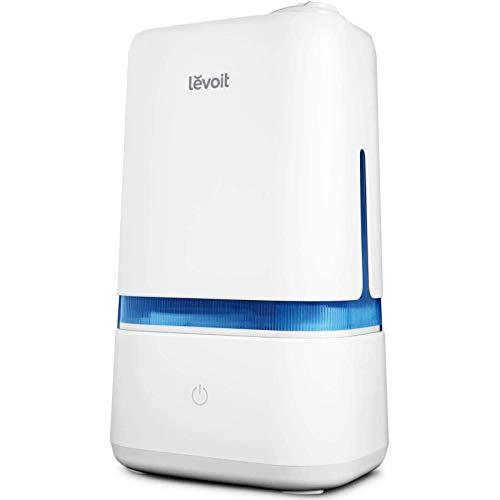 Levoit Ultraschall Luftbefeuchter 4L, 40Std Arbeitszeit 25dB Ultraleise Humidifier bis zu 35m², Dual 360°...