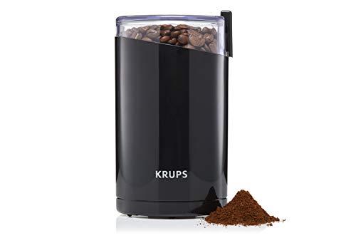 Krups F20342 Kaffeemühle und Gewürzmühle in Einem   Leistungsstarker Motor   Mahlgrad variabel   75g...