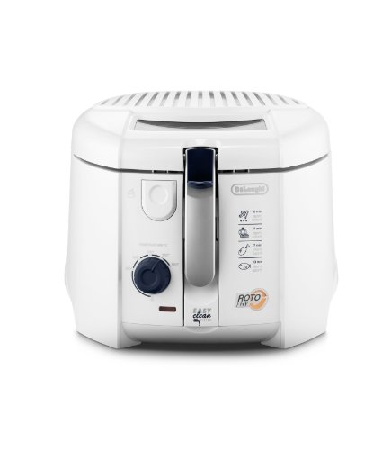De'Longhi F 28.311.W1 Rotofritteuse |Roto-Fry-System für 50 % weniger Öl | Easy Clean System |...