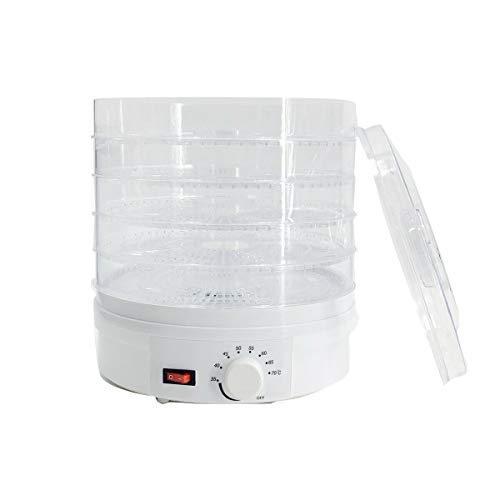 NICCOO Dörrautomat mit Temperaturregler, 35℃ - 70℃ Dörrgerät, Lebensmittel, 5 Etagen Dörrautomat...