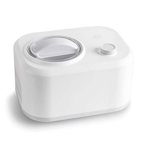 Eismaschine Eni 1 L mit selbstkühlendem Kompressor 100 W, entnehmbarer Eisbehälter
