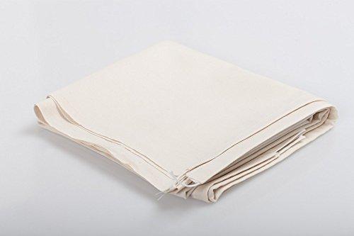 daniplus© Bügeltuch für Bügelmaschine - universal für Walzenbreite 85cm (Miele, Cordes)