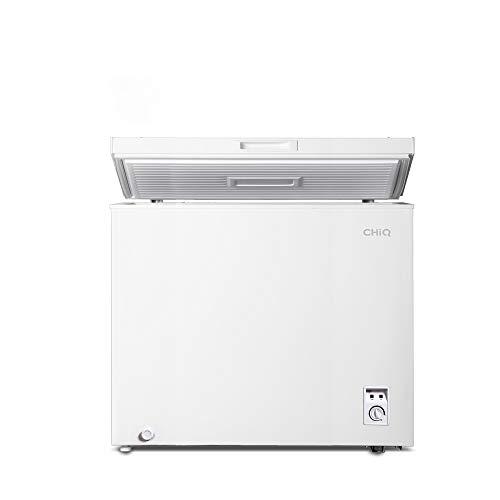 CHiQ FCF142D Gefrierschrank 142 L | Gefriertruhe mit statischem Kühlungsystem | Tiefkühlschrank | 82,5 x 76...