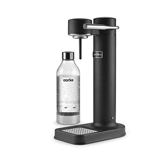 Aarke Carbonator II Wassersprudler (Edelstahl Gehäuse, Soda Sprudelwasser, inkl. PET-Flasche, kompatibel mit...