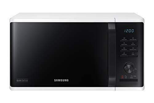 Samsung MS23K3515AW/EG Mikrowelle / 800 W / 23 L Garraum / 48,9 cm Breite / Quick Defrost / 29...