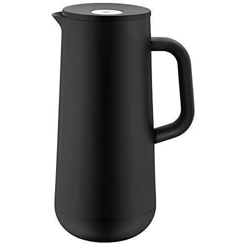 WMF Impulse Thermoskanne 1l, Isolierkanne für Kaffee oder Tee, Druckverschluss, hält Getränke 24h kalt &...