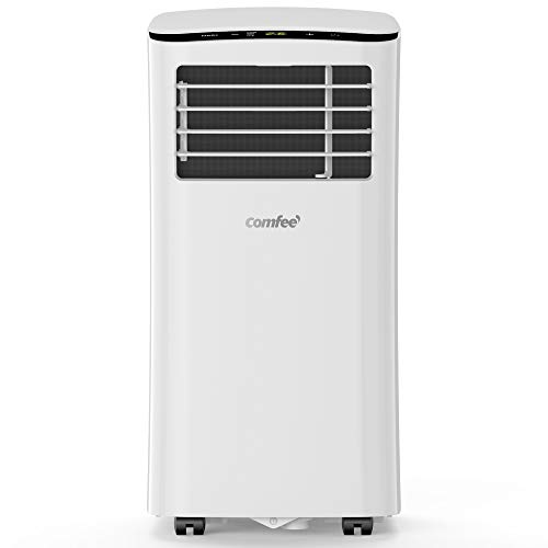 Comfee MPPH-08CRN7 Mobiles Klimagerät, Schnelle Kühlung, 3-in-1 Klimagerät: Kühlen, Entfeuchten,...