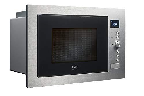 Caso EMCG32 3-in-1 Einbau-Mikrowelle mit Grill und Heißluft 2500W   Backofen-Funktion, 140 - 230°C, 60cm...