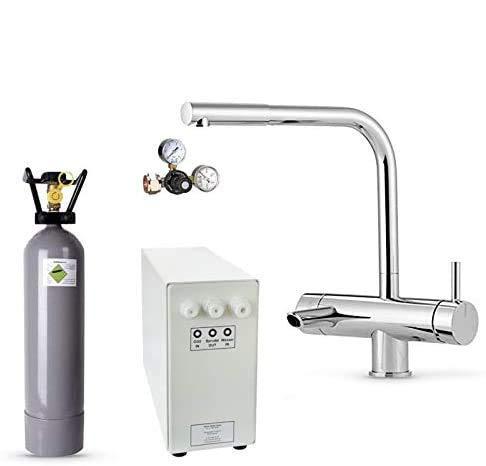 Sprudel-Lok Sprudel aus dem Wasserhahn! Untertisch-Trinkwassersystem - Trinkwassersprudler NEUHEIT! inkl....
