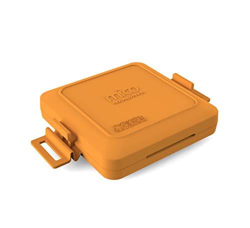 Morphy Richards 511644 MICO Sandwichtoaster Kochgeschirr für die Mikrowelle, Silikon und beschichtetes...
