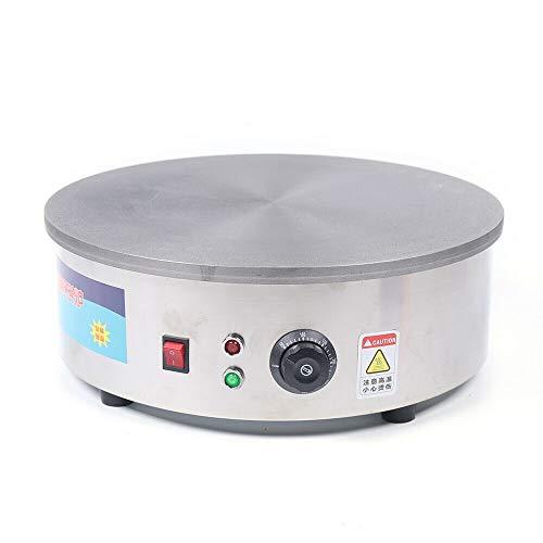 45CM 2800W Crepes Maker Machine Gastronomie Edelstahl 50-400 ℃ ideal für Crêpes, Pancake, Palatschinken &...