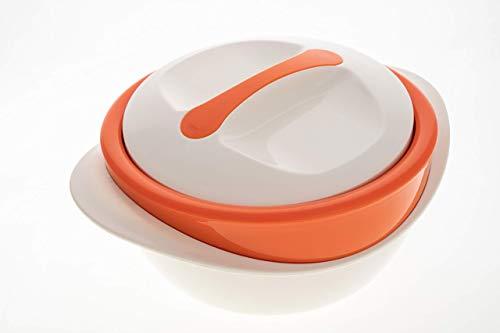Schulz-Haushaltwaren XXL 4 l 4,0 Liter Thermobehälter Thermoschüssel Isolierschüssel Isolierbehälter...