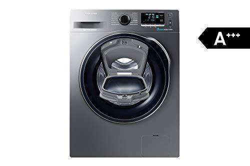 Samsung WW80K6404QX/EG Waschmaschine FL/A+++/116 kWh/Jahr/1400 UpM/8 kg/Add Wash/WiFi Smart Control/Super...