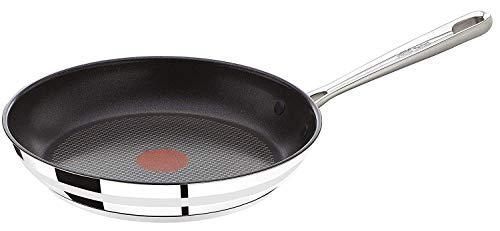 Tefal E85604 Jamie Oliver Pfanne, Bratpfanne, 24cm, Induktionspfanne, integrierter Temperaturanzeiger,...