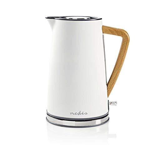 Nedis KAWK510EWT Wasserkocher   1,7 l   Soft-Touch   Weiß