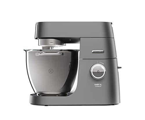 Kenwood Chef XL Titanium KVL8320S Küchenmaschine, 6,7 l Edelstahl Schüssel mit Innenbeleuchtung,...