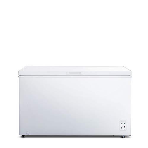 CHiQ FCF400D Gefrierschrank Groß 400 L | Gefriertruhe mit statischem Kühlungsystem | Tiefkühlschrank | 83,5...