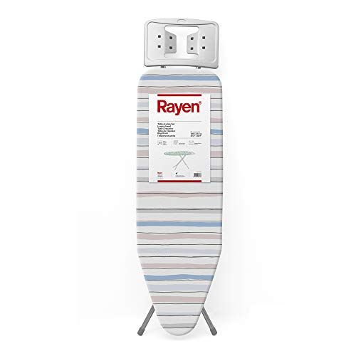 Rayen Tabla de planchar Bügelbrett Basic, Streifen, 120 x 38 cm