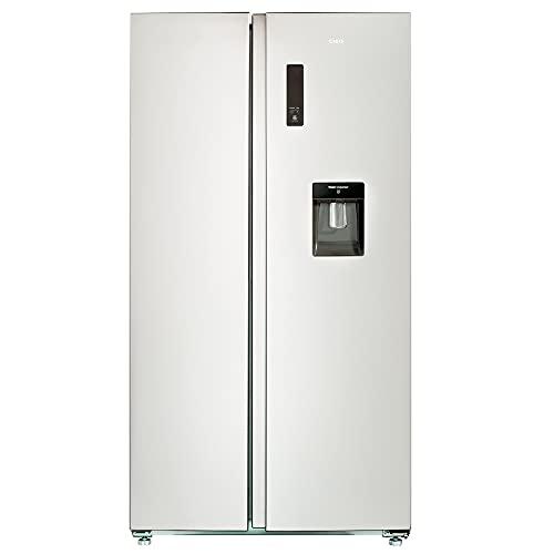 CHIQ FSS559NEI32D Side By Side Kühlschrank mit Inverter und No Frost Technologie 559L | Side-by-Side Kühl-...