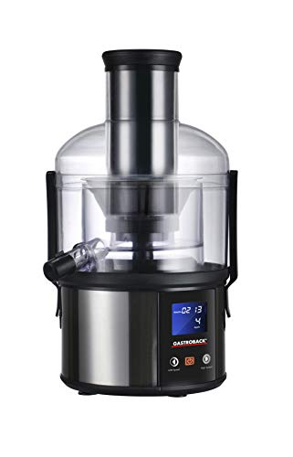 Gastroback 40125 Easy Juicer Fun, 1 Liter, Obst und Gemüse, Zentrifugal-Entsafter, 800 Watt, extrem leise,...