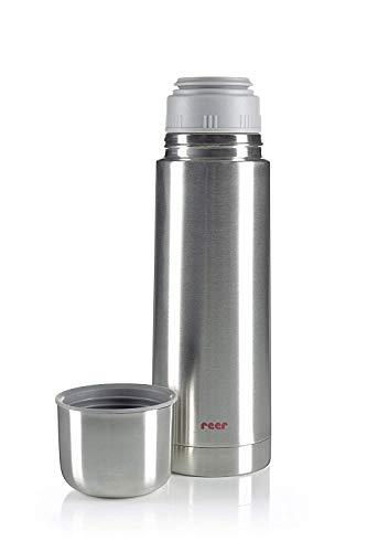 reer Edelstahl Isolier-Flasche 500ml – klein, handlich, ideal fürs Baby